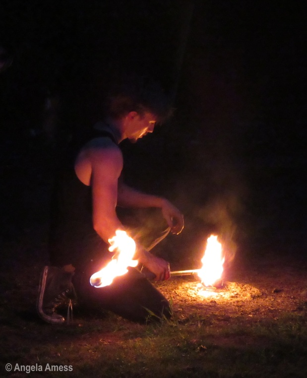 Playing with fire – The Tikis' Torches
